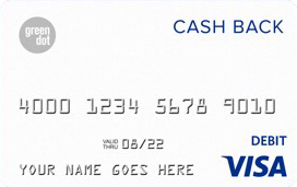Green Dot 5% Cash Back Visa® Debit Card