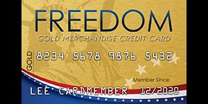 Freedom Gold Card