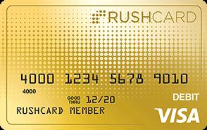 24k Prepaid Visa RushCard