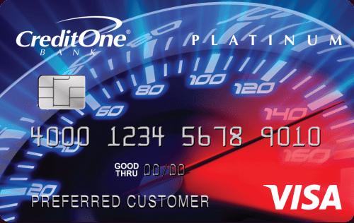 Credit One Bank® Visa® Cash Back Rewards