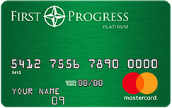 First Progress Platinum Elite MasterCard® Secured