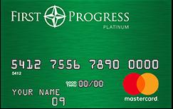 First Progress Platinum Elite MasterCard® Secured